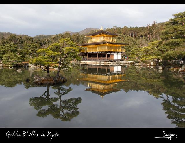 Pabellón Dorado en Kyoto
