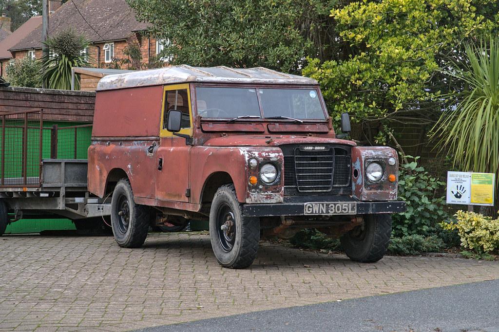 1972 Land Rover Series III Hardtop GWN 305L