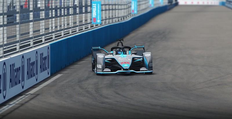 2021 ABB Formula E FIA World Championship car pack DLC for rFactor 2