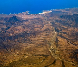 Pichidangui bay and Quilimari river, Chile