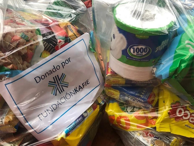 Fundación Kafie entrega ayuda a colaboradores de empresas del Grupo K afectados por huracán Eta