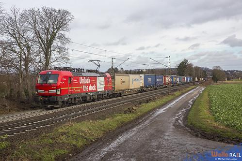193 342 . DB Cargo . 65901 . Aachen . 21.01.21.