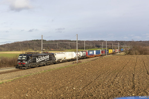 193 318 . DB Cargo . E 40218 . Warsage . 21.01.21. (Laurent Gary).
