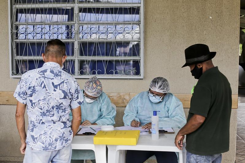 Casa Viva de Taguatinga recebe vacinação contra Covid-19