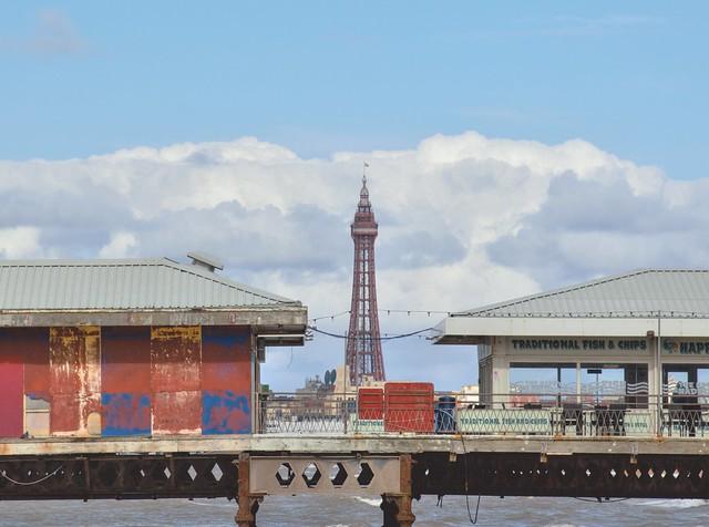 Glimpse of Blackpool Tower