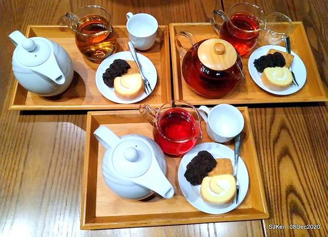 Afternoon Tea at Gen Sun Lin-Jen Residence , SJKen, Taipei, Taiwan, Dec 8, 2020.