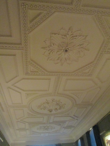 Ceiling,  Fireplace, Bishop's Throne Room, Auckland Castle