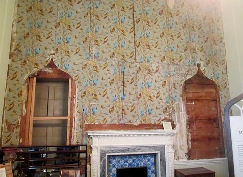 Old Wallpaper,  Auckland Castle
