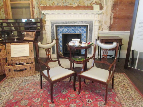 Fireplace + Chair,  Auckland Castle,