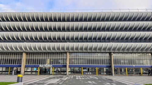 Curves of Preston Bus Station | by Tony Worrall