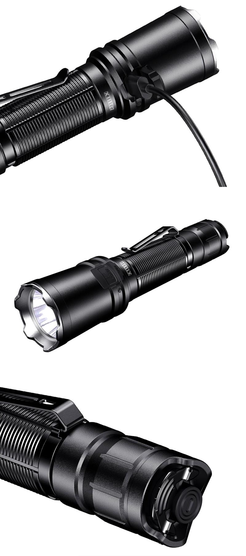 XT11R 1300流明 攻擊頭 雙開關 戰術手電筒 錸特光電 實體門市 專業手電筒專賣店