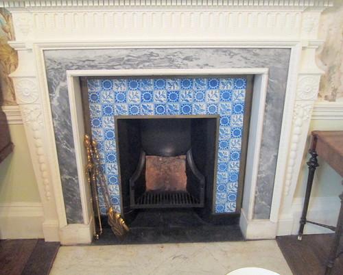 Fireplace Tiles,  Auckland Castle,