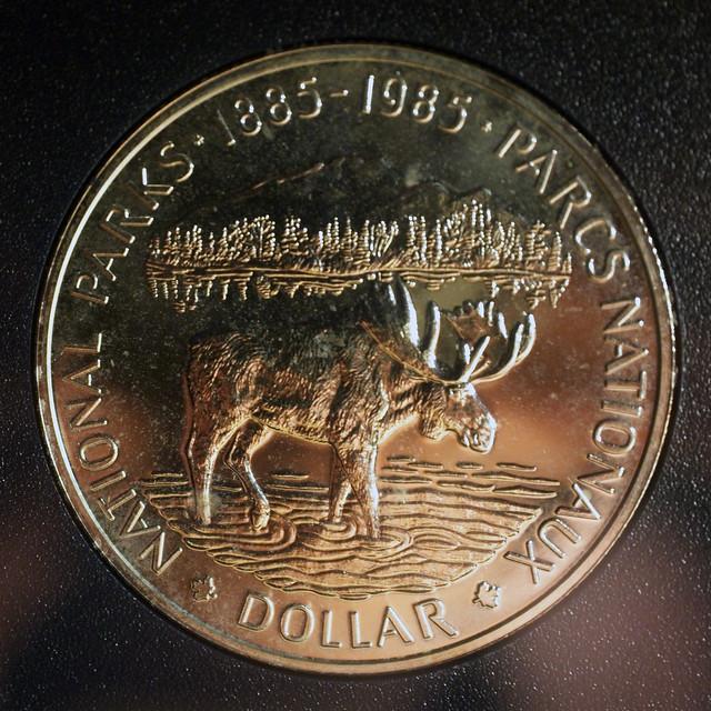 Parks Canada Siler Dollar