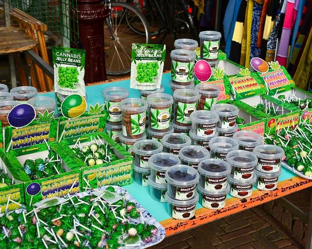 Cannabis en la ciudad de Amsterdam