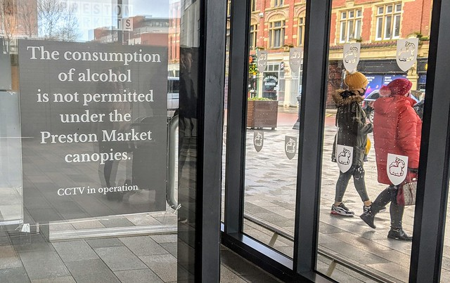 No more drinking under the market canopies