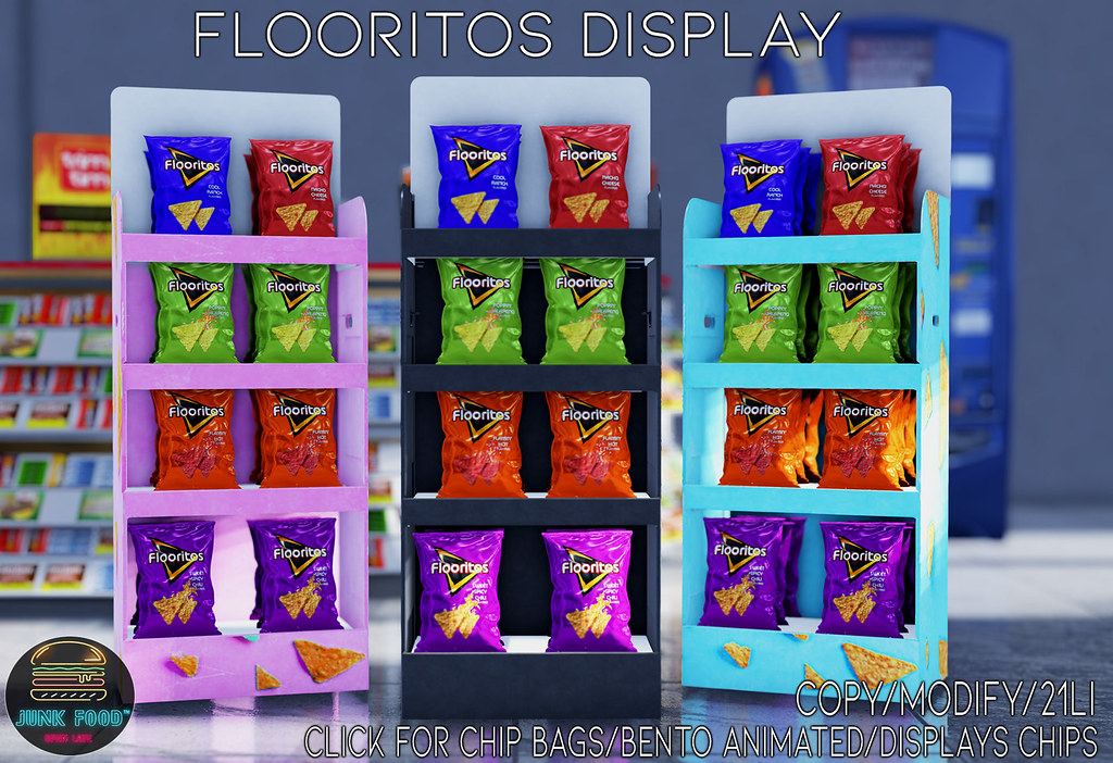 Junk Food – Flooritos Display