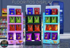 Junk Food - Flooritos Display