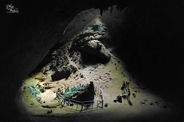 Thailand phu pha phet cave green stone
