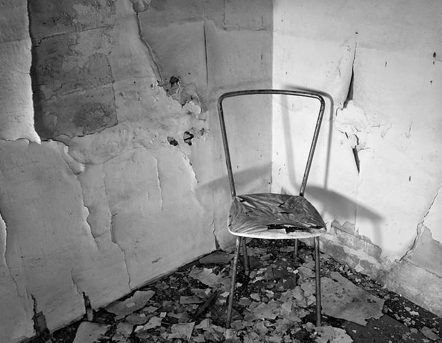 Chair in a Corner, Abandoned Farmhouse, Eastern Washington