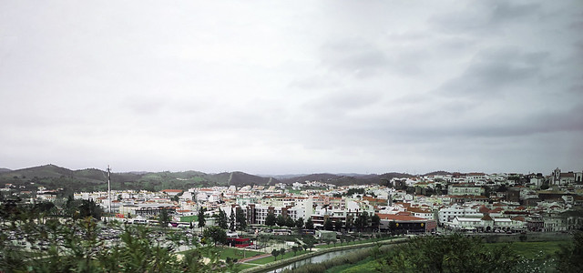 vista de Silves Algarve Portugal