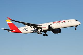 IBERIA / Airbus   A 350-900   F-WWIW   msn 459 / LFBO - TLS / janv 2021