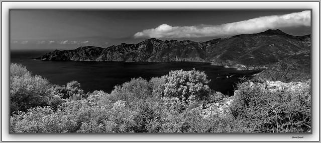 Panorama sur le Golfe de Girolata