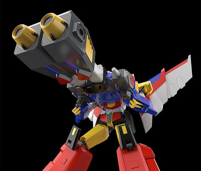 MODEROID《元氣小子》天神獅王 09 月發售 可再現奇蹟武裝「勁力巨砲」!