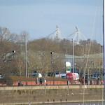 Preston North End stadium from the docks