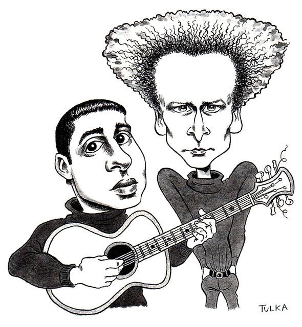 Simon & Garfunkel (MAD Magazine 1997)