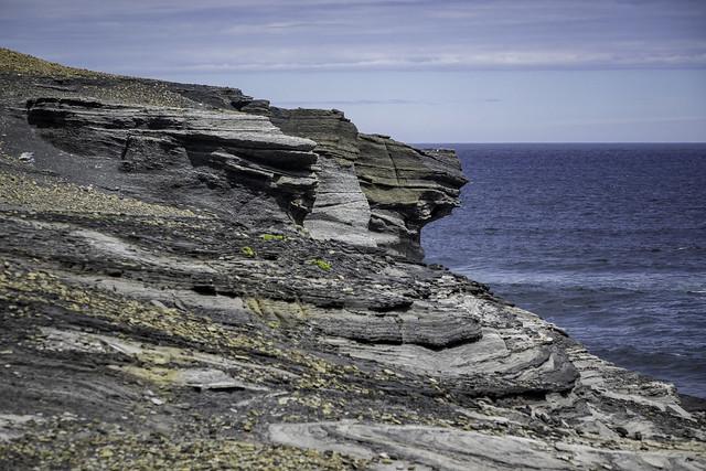 Clifftop, South Cape Bay walk, Southwest National Park, Tasmania-17