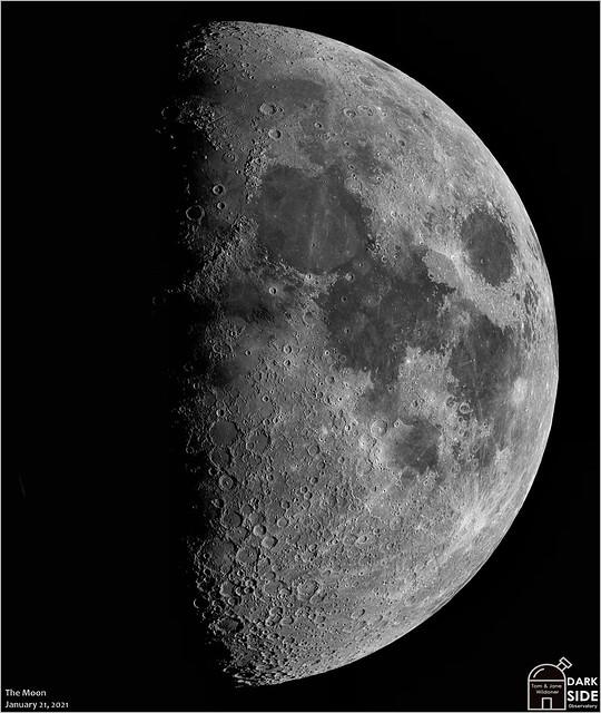 The Moon - January 21, 2021
