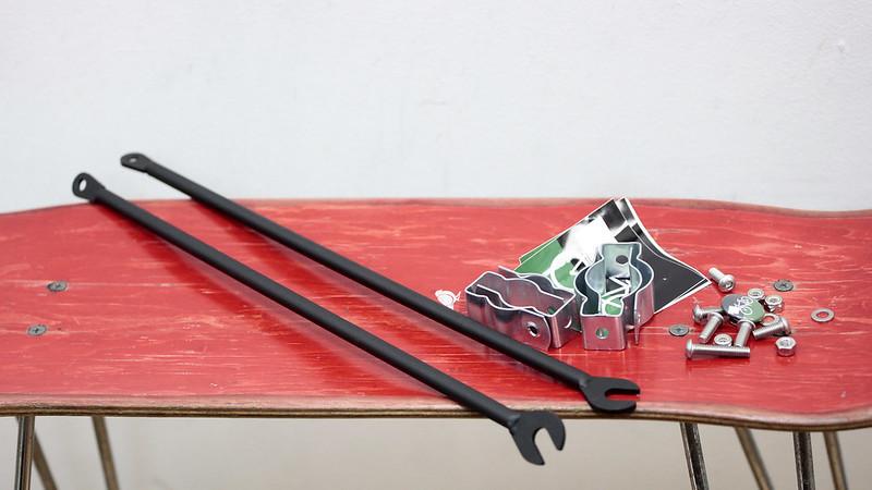 Cetma Cargo / 3-Rail Rack / Black