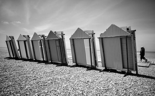 les cabines du bord de mer