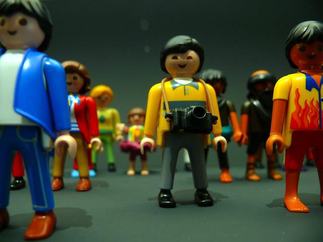 Playmobil Flickrist