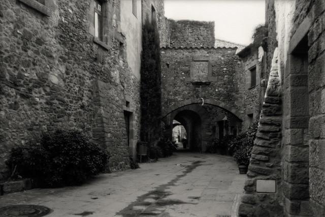 Baix Emporda. España. Pinhole o estenopeica. Cámara Horseman 980. Formato 6x9. Imagen 2 de 14. 22-01-2020.