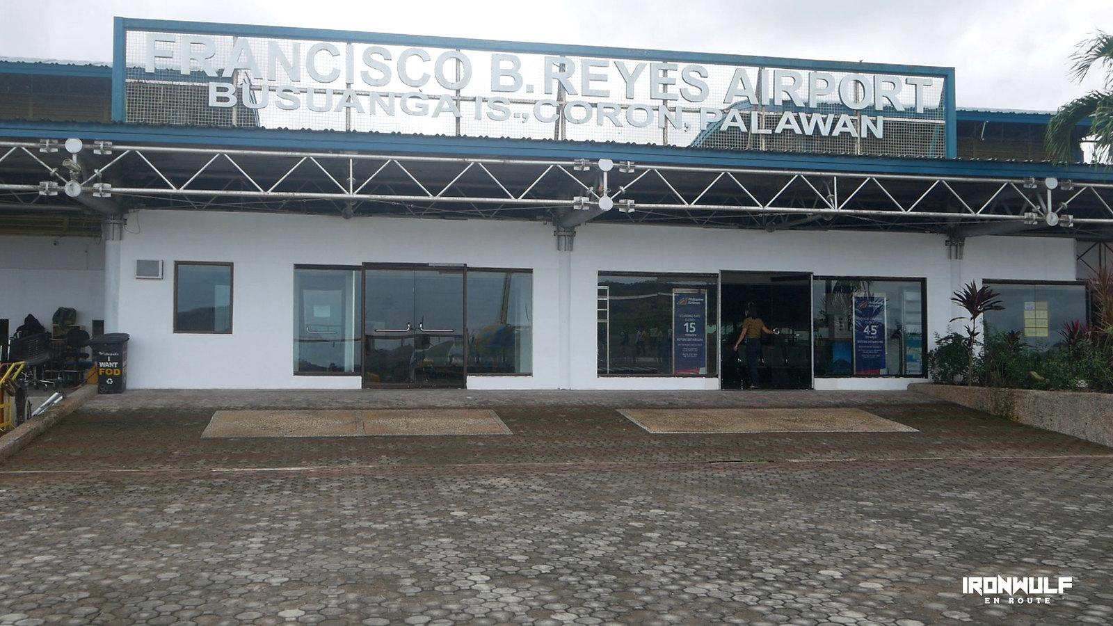 Francisco B Reyes Airport in Busuanga, Coron, Palawan