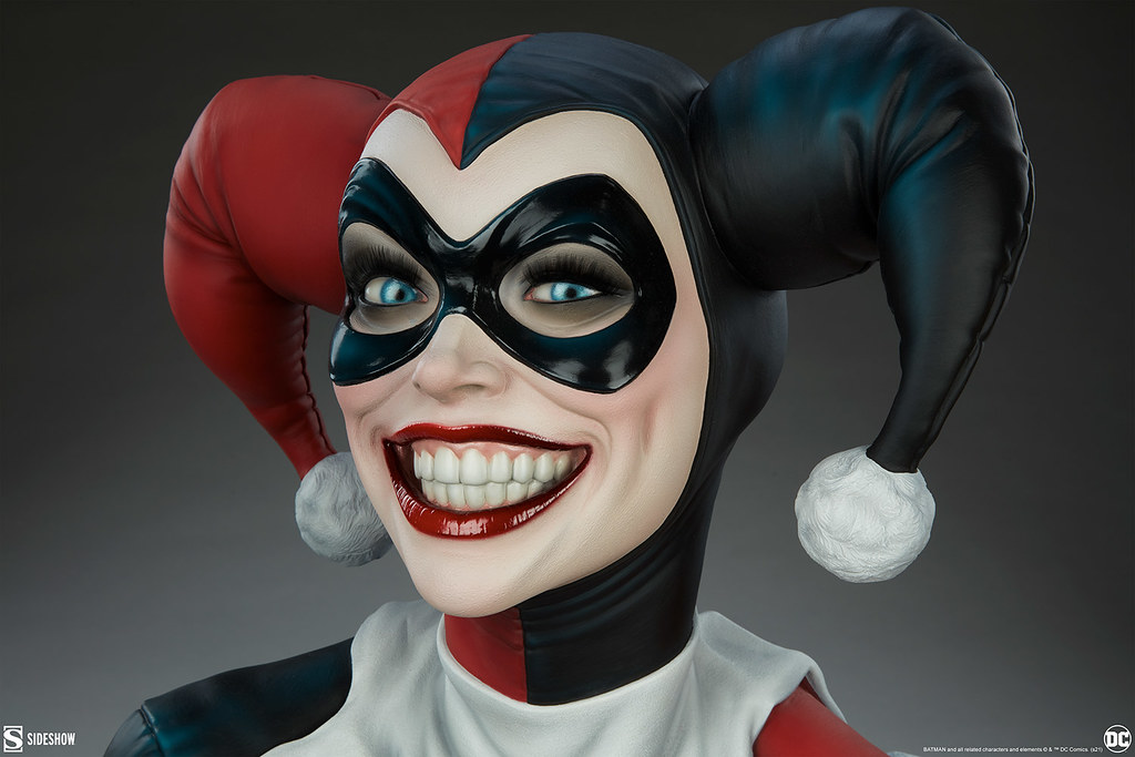 Sideshow Collectibles DC Comics【哈莉·奎茵】Harley Quinn 1/1 比例半身胸像