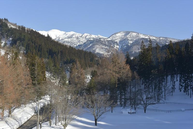 白峰からの白山