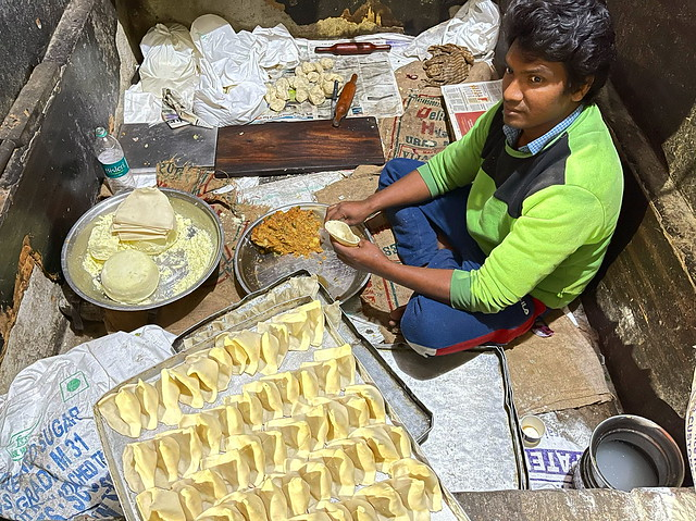 To Riyaz Ahmad's Samosa Making Job that Pays the Bills