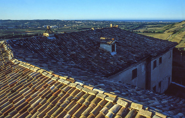 Pomeriggio sul tetto - Afternoon on the roof