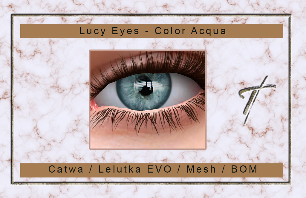 Tville – Lucy Eyes *acqua*