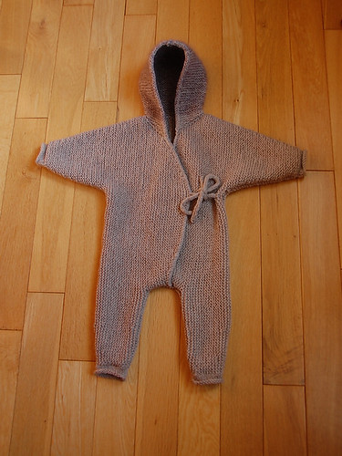 This is adorable! Victoria knit this Shell by Lone Kjeldsen for her daughter