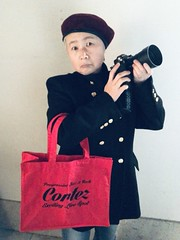 iphone photo 3246: Red bag and a camera. 22 Jan 2021