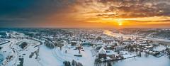 Old town panorama | Kaunas aerial