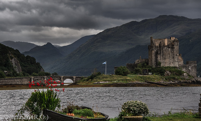 Castle on the Isle of Sky, Scotland