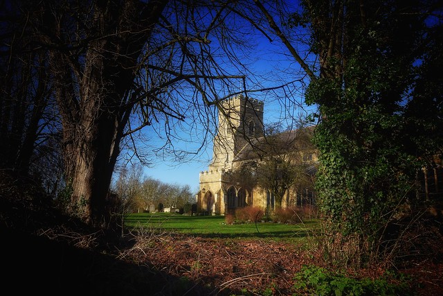 St Nics in Winter sun. (Explored)