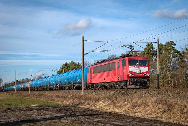 Boizenburg MAED 155 183-7 Kessel