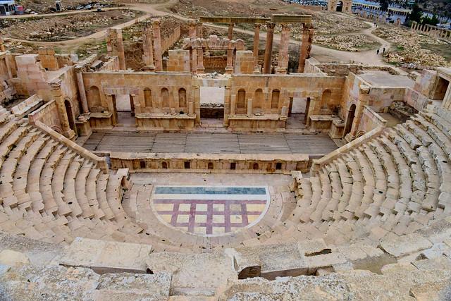 Northern Theatre, Jerash, Jordan,  321