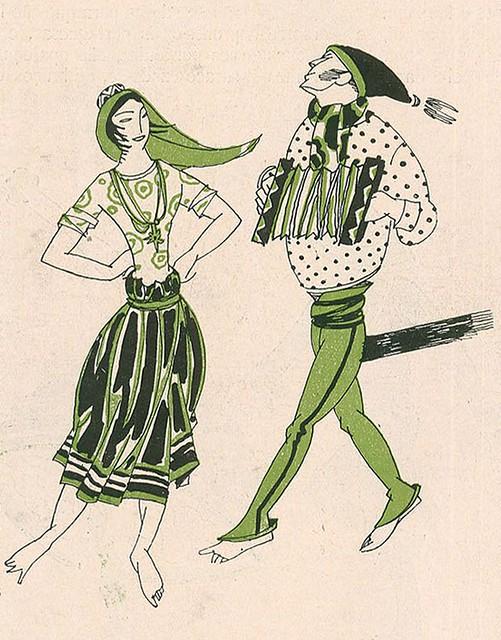 Ilustração antiga | vintage illustration | Portugal 1920s