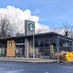 New Starbucks at Preston Docks. Open soon